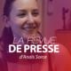 La revue de presse d'Anaïs Sorce