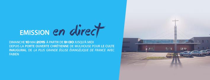 Direct inauguration Porte Ouverte Chrétienne
