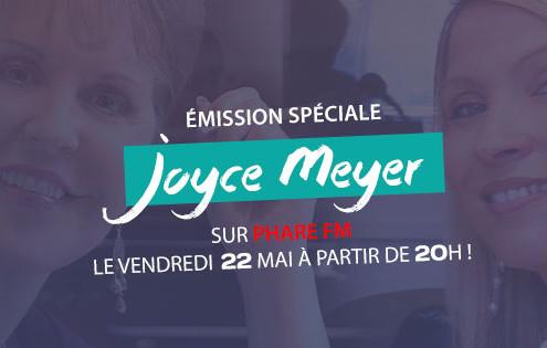 Actu émission Joyce Meyer 22 mai 2015