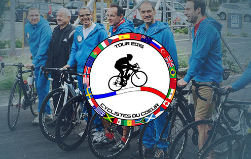 Cyclistes du cœur 2015