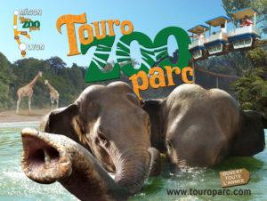 touroparc-zoo places gratuites touroparc