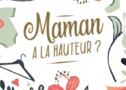 cadeau de fête des mères maman à la hauteur