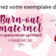 burn out maternel