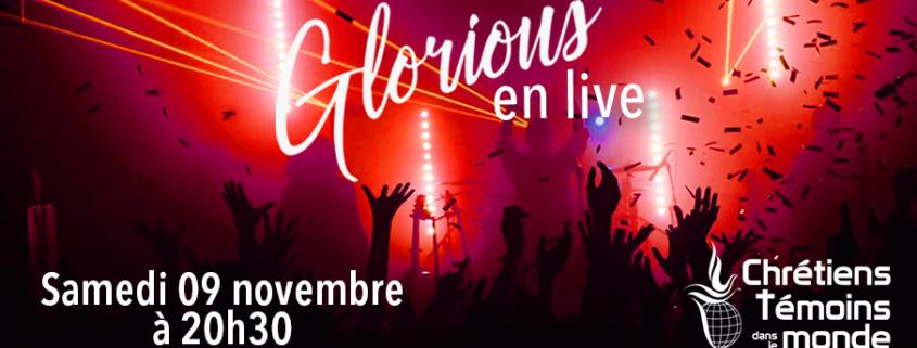 concert Glorious Villeurbanne