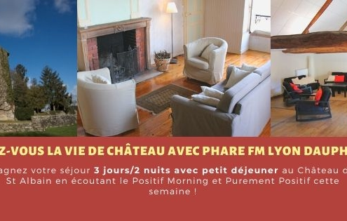 Château St Albain week-end gratuit